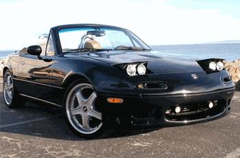 Miata Low Profile Headlights 1990-1997