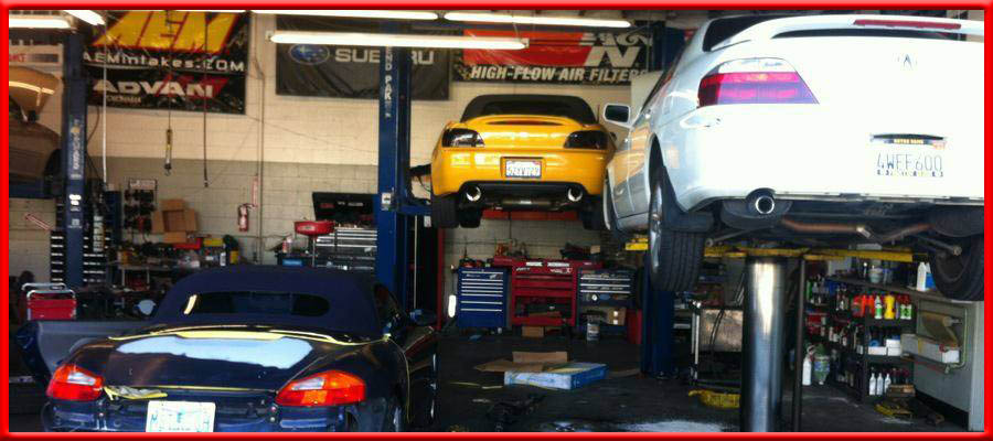 auto repair at integrated performance hawthorne california