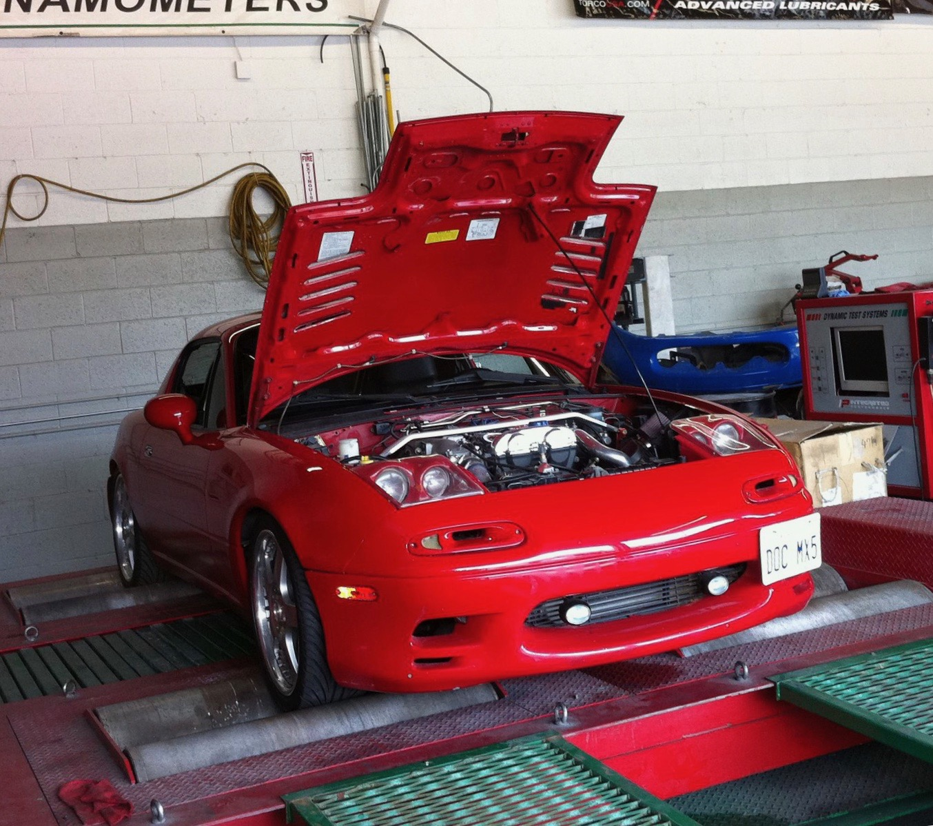 in house dyno at integrated performance